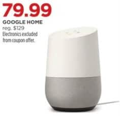 JCPenney Black Friday: Google Home for $79.99