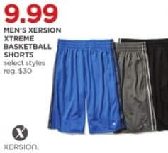 JCPenney Black Friday: Xersion Men's Xtreme Basketball Shorts, Select Styles for $9.99