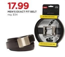 JCPenney Black Friday: Men's Exact Fit Belt for $17.99