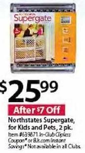 BJs Wholesale Black Friday: Northstates Supergate 2 Pack for $25.99