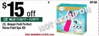 BJs Wholesale Black Friday: Amope Pedi Perfect Home Foot Spa Kit - $15 Off