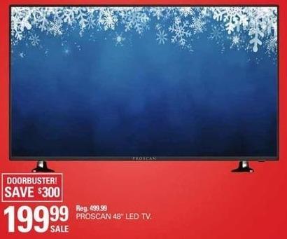 """Shopko Black Friday: 48"""" Proscan PLDED4897A LED TV for $199.99"""