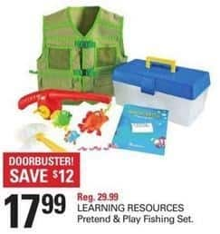 Shopko Black Friday: Learning Resources Pretend & Play Fishing Set for $17.99