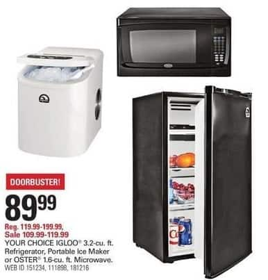 Shopko Black Friday: Oster 1.6-cu Ft Microwave for $89.99