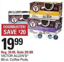 Shopko Black Friday: Victor Allen's 80-ct Coffee Pods for $19.99