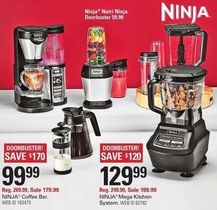 Shopko Black Friday: Ninja Coffee Bar 10 Cup Coffee Maker for $99.99