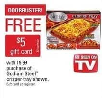 Shopko Black Friday: Gotham Steel Crisper Tray + $5 Shopko Gift Card for $19.99