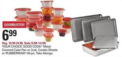 Shopko Black Friday: Rubbermaid 40-pc TakeAlongs for $6.99