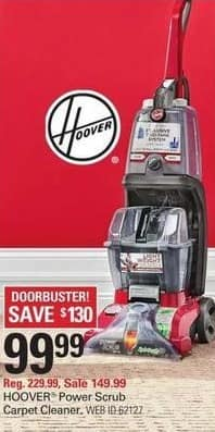 Shopko Black Friday: Hoover Power Scrub Deluxe Carpet Cleaner for $99.99