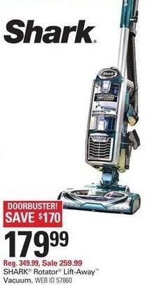 Shopko Black Friday: Shark Rotator NV681 Lift-Away Vacuum for $179.99