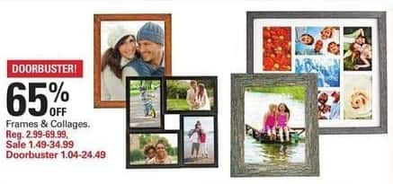 Shopko Black Friday: Photo Frames and Collages - 65% Off