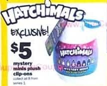 Five Below Black Friday: Hatchimals Mystery Minis Plush Clip-ons for $5.00