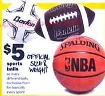 Five Below Black Friday: Assorted Sports Balls for $5.00