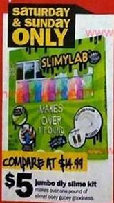Five Below Black Friday: Jumbo DIY Slime Kit for $5.00