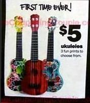 Five Below Black Friday: Ukuleles for $5.00