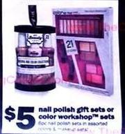 Five Below Black Friday: Nail Polish or Color Workshop Gift Sets for $5.00