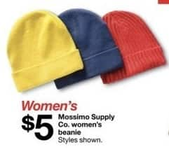 2d2a49afe57 Target Black Friday  Mossimo Supply Co. Women s Beanie