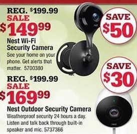 Ace Hardware Black Friday: Nest Outdoor Security Camera for $169.99