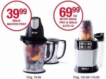 Belk Black Friday: Nutri Ninja Pro or Ninja Auto IQ Blender for $69.99