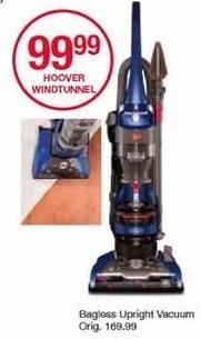 Belk Black Friday: Hoover WindTunnel Bagless Upright Vacuum for $99.99
