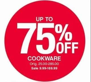 Belk Black Friday: Select Cookware - Up to 75% Off