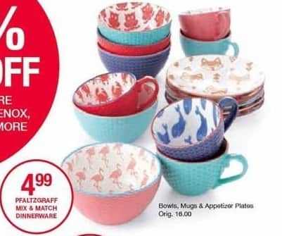 Belk Black Friday: Pfaltzgraff Mix and Match Dinnerware for $4.99