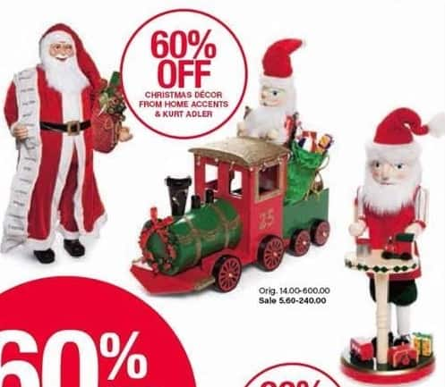 belk black friday christmas decor from home accents and kurt adler 60 off see deal - Black Friday Deals Christmas Decorations