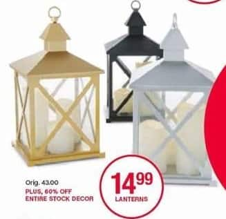 Belk Black Friday: Lanterns for $14.99