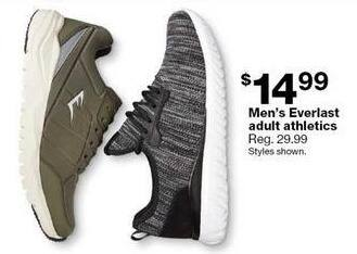 Sears Black Friday: Everlast Men's Athletic Shoes, Select Styles for $14.99
