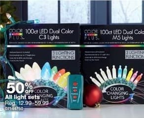 Sears Black Friday: All Light Sets - 50% Off