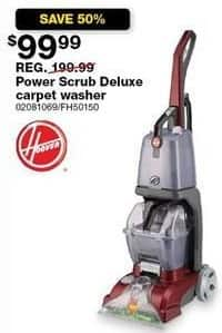 Sears Black Friday: Hoover FH50150 Power Scrub Deluxe Carpet Washer for $99.99