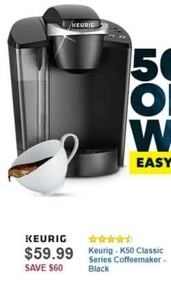 Best Buy Black Friday: Keurig K50 Classic Series Coffee Maker for $59.99