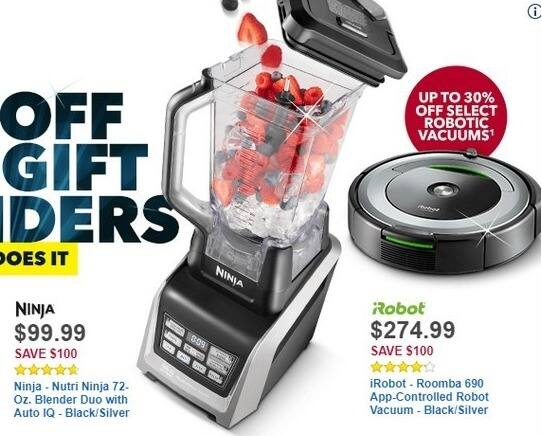 Best Buy Black Friday: Select Robotic Vacuums - Up to 30% Off