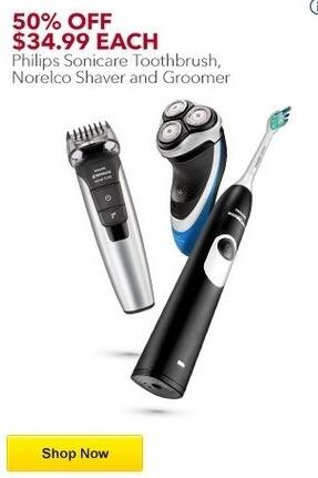 Best Buy Black Friday: Philips Norelco Multigroom Series 7400 Wet/Dry Trimmer for $34.99