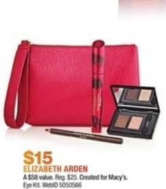 Macy's Black Friday: Elizabeth Arden Eye Kit for $15.00