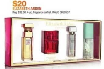 Macy's Black Friday: Elizabeth Arden 4-pc Fragrance Coffret for $20.00