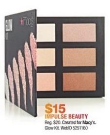 Macy's Black Friday: Impulse Beauty Glow Kit for $15.00