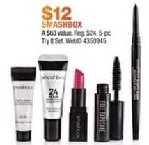 Macy's Black Friday: Smashbox 5-pc Try It Set for $12.00