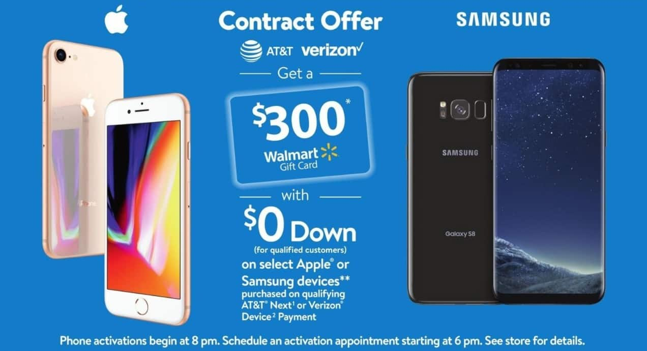 Walmart Black Friday: $300 Walmart Gift Card w/ $0 Down on Select ...