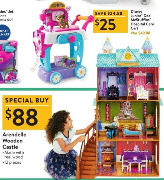 Walmart Black Friday: Disney Junior Doc McStuffins Hospital Care Cart for $25.00