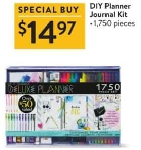 Walmart Black Friday: DIY Planner Journal Kit for $14.97