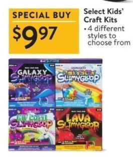 Walmart Black Friday: Select Kids' Craft Kits for $9.97