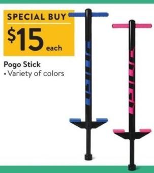 Walmart Black Friday: Pogo Stick for $15.00