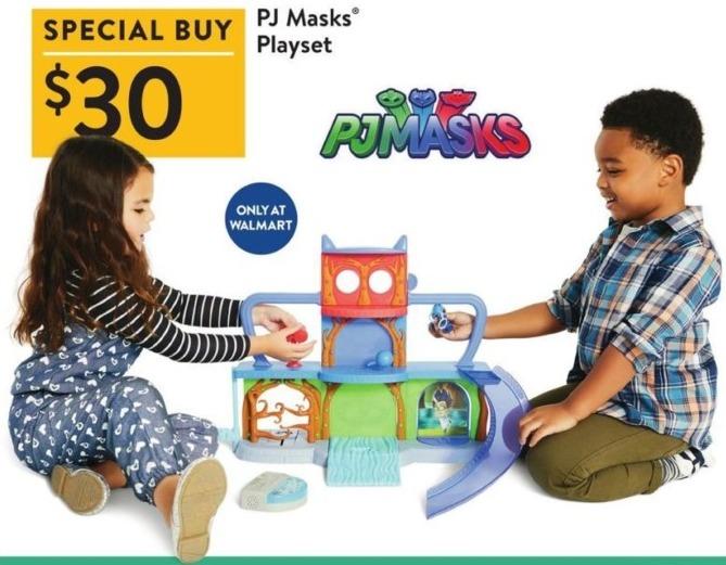 Walmart Black Friday: PJ Masks Playset for $30.00