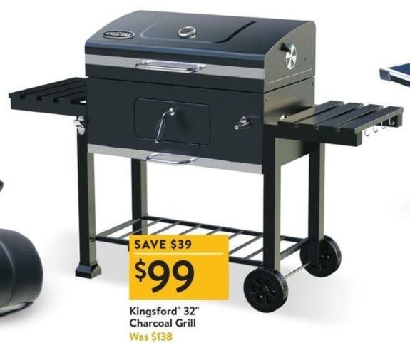 "Walmart Black Friday: Kingsford 32"" Charcoal Grill for $99 ..."