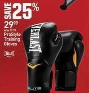 Dicks Sporting Goods Black Friday: Everlast ProStyle Training Gloves for $29.99