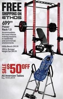 Dicks Sporting Goods Black Friday: Ethos Power Rack 1.0 for $699.99