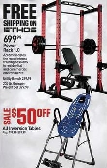 Dicks Sporting Goods Black Friday: All Inversion Tables - $50 Off