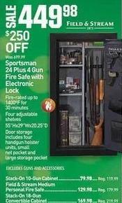 Dicks Sporting Goods Black Friday: Stack-On 10-Gun Cabinet for $79.98