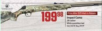 Dicks Sporting Goods Black Friday: Impact .50 Caliber Camo Shotgun for $199.98 after $25.00 rebate